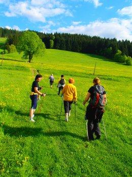 Nordic Walking II. Po valašských kopcoch.