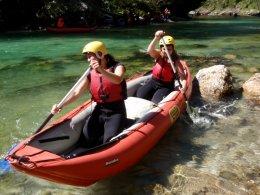 Sjíždění divoké řeky Salzy